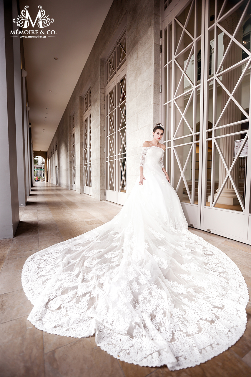 Wedding Gown Singapore | Memoire & Co